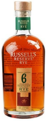 Wild Turkey Rye Whiskey Russels Reserve 6 Year